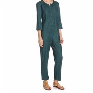 Sea NY Cora Jumpsuit in Forest Green